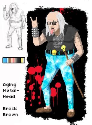 Aging Metal-Head Edit