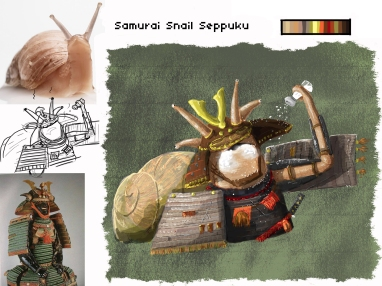Samurai Snail Seppuku Edit