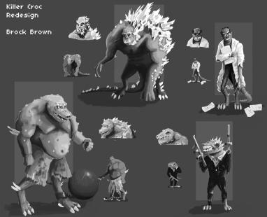 Killer Croc Redesign Edit