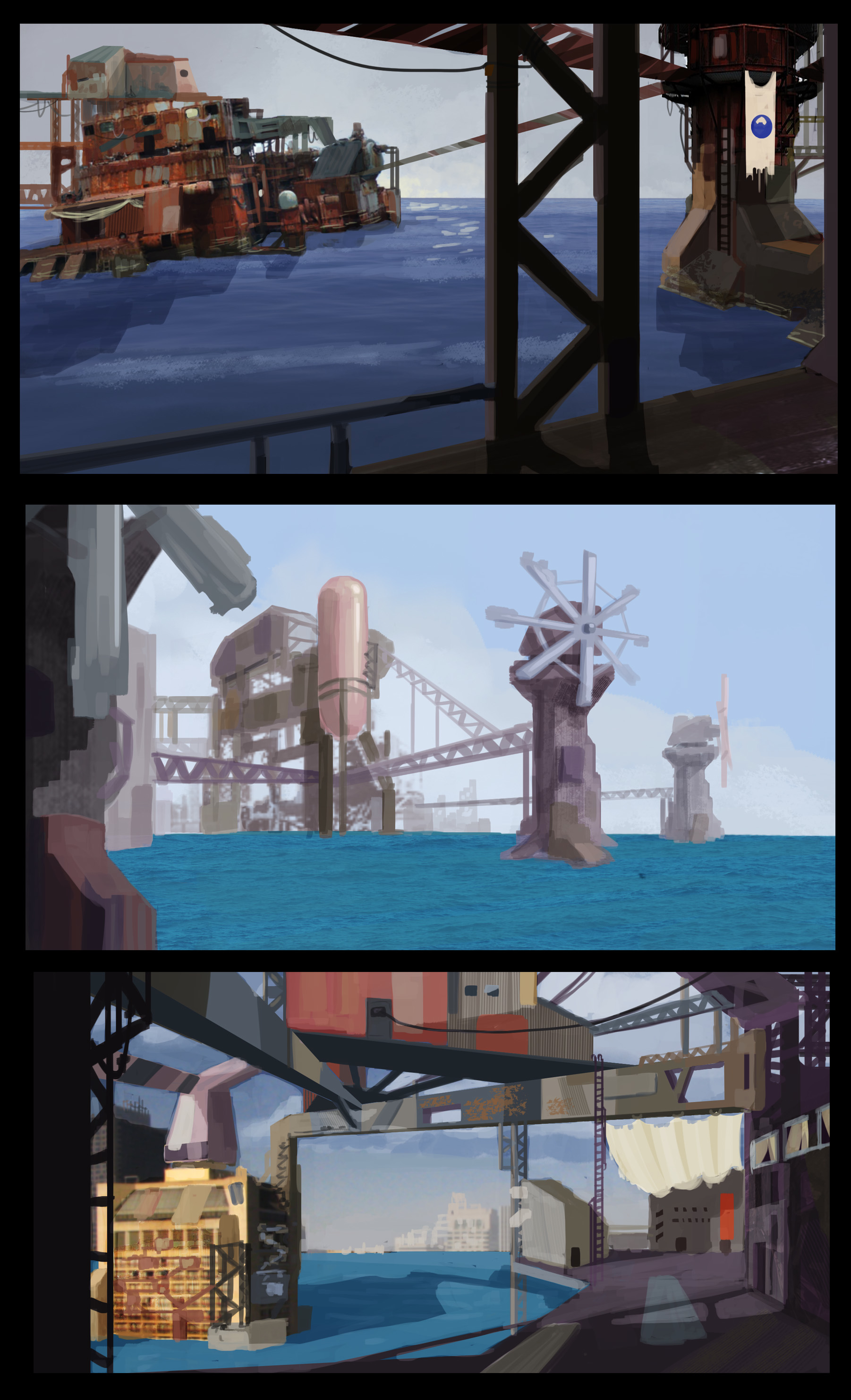 Environment Sketches 3