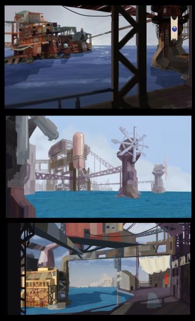 Environment Sketches 3
