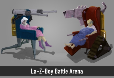 La-Z-Boy Battle Arena
