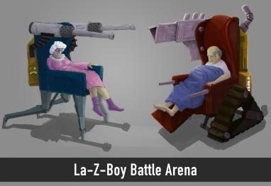 La-Z-Boy Battle Arena